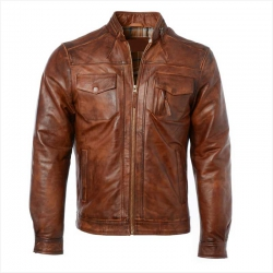 <p>Men Leather Jacket</p>